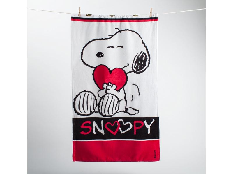 Osuška Snoopy love