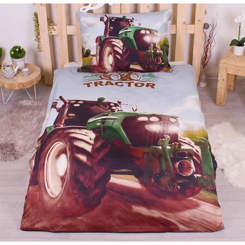Povlečení Traktor 3D