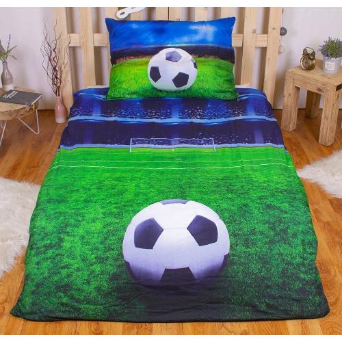 Povlečení Fotbal 3D
